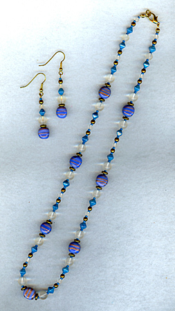 blue gold set