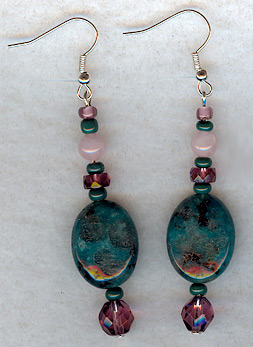 earrings by Alexandria Levin