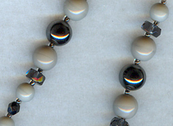hematite gray set detail